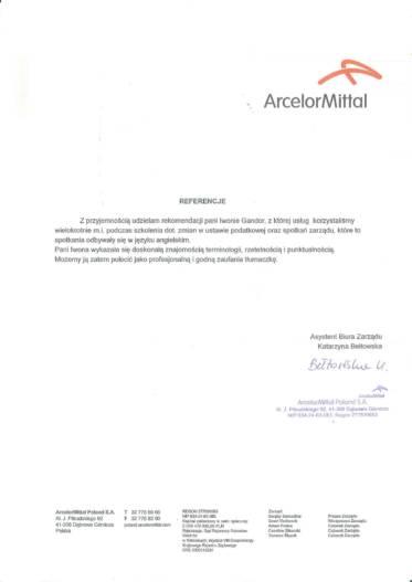 6 Arcellor Mittal - Zarząd